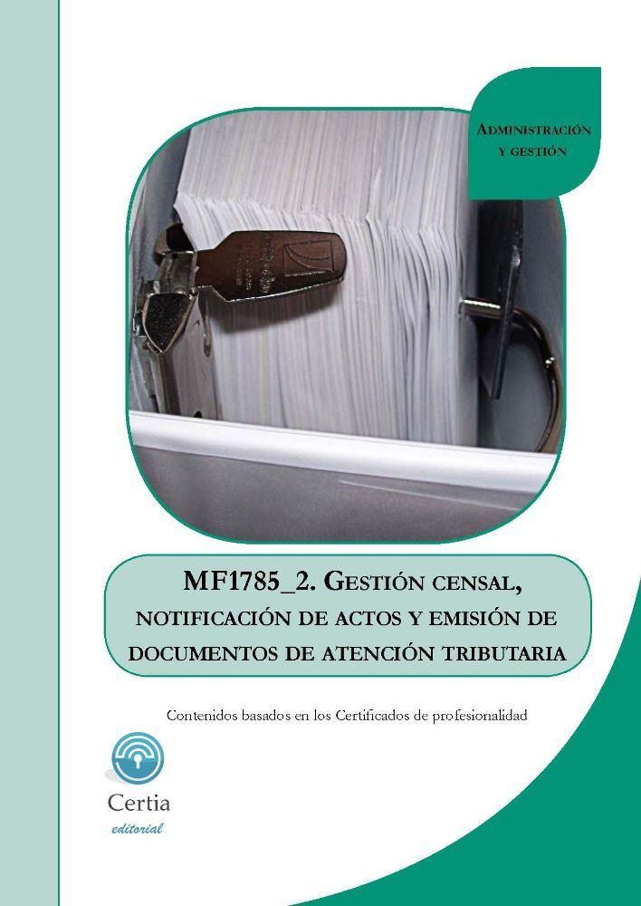 Mf1785 gesti n censal notificaci n de actos y emisi n de for Oficina de gestion tributaria